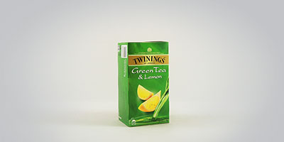 Twinings Green Tea and Lemon 25 x 2 g Teebeutel