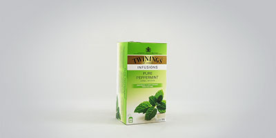 Twinings Pure Peppermint 25 x 2 g Teebeutel